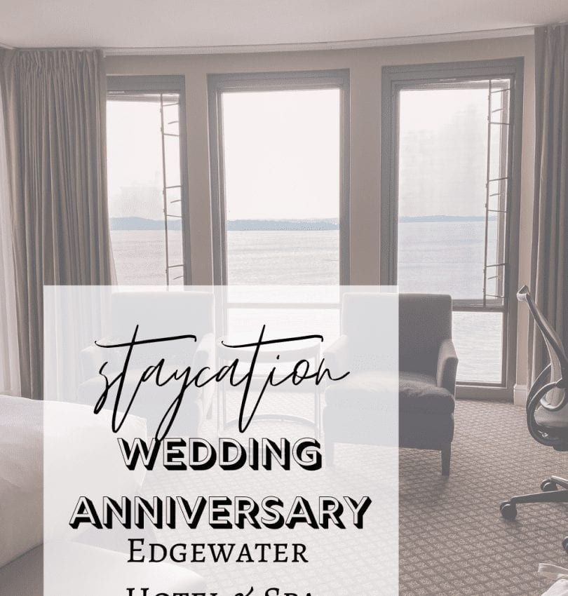 Wedding Anniversary Staycation at Edgewater Hotel & Spa Madison, WI