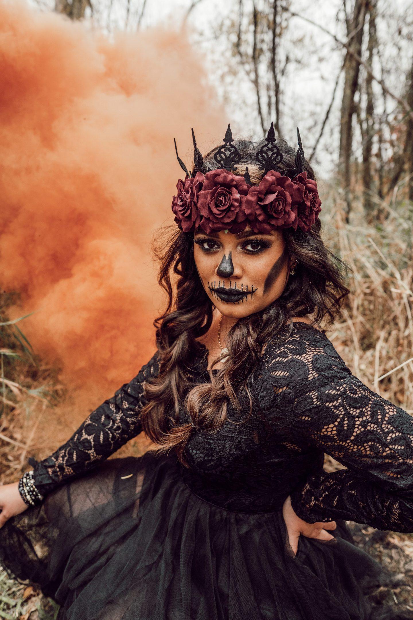 halloween style shoot
