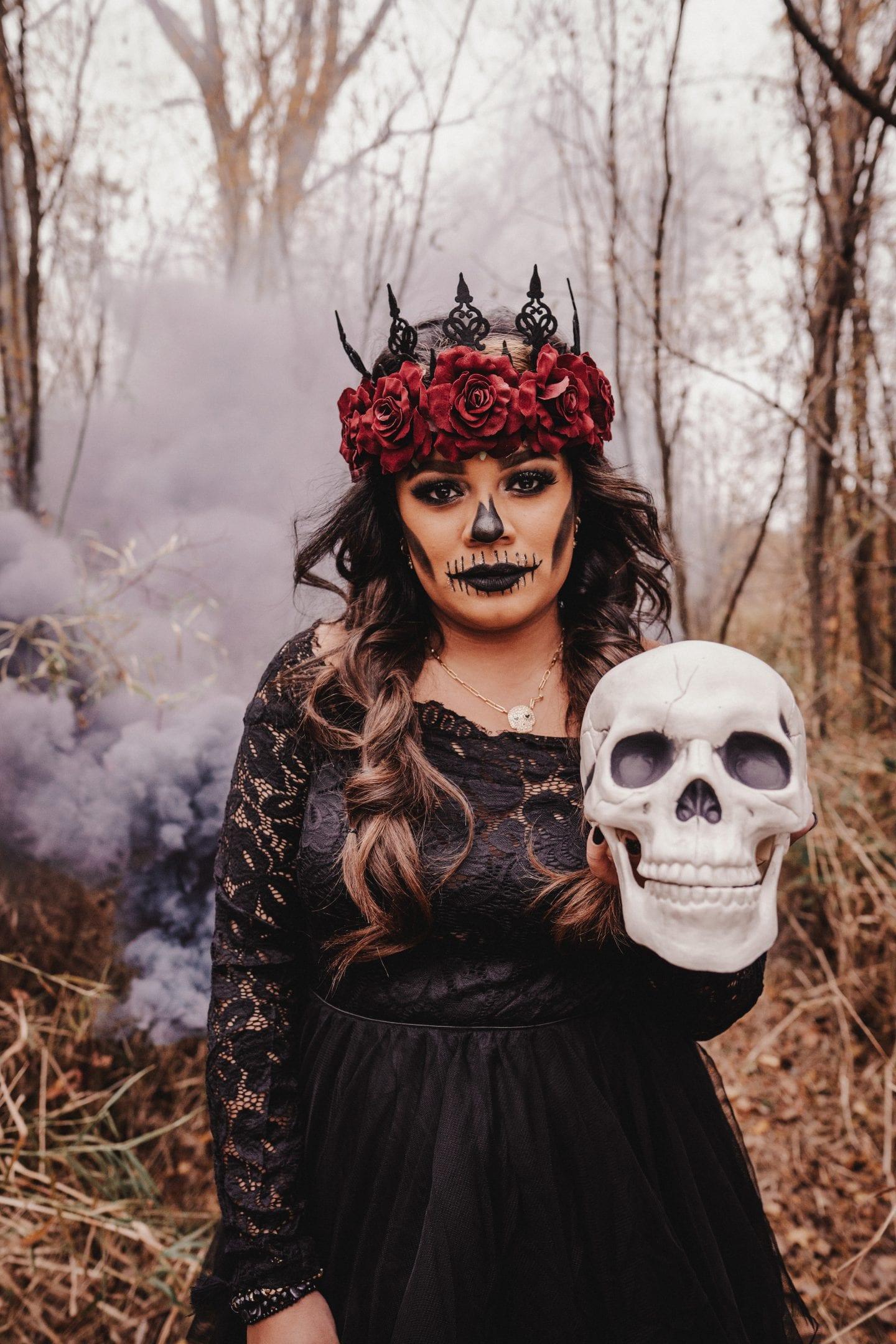 halloween styled shoot
