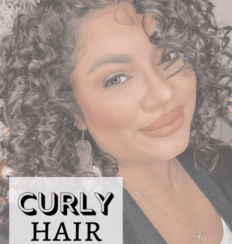 Curly Hair Routine