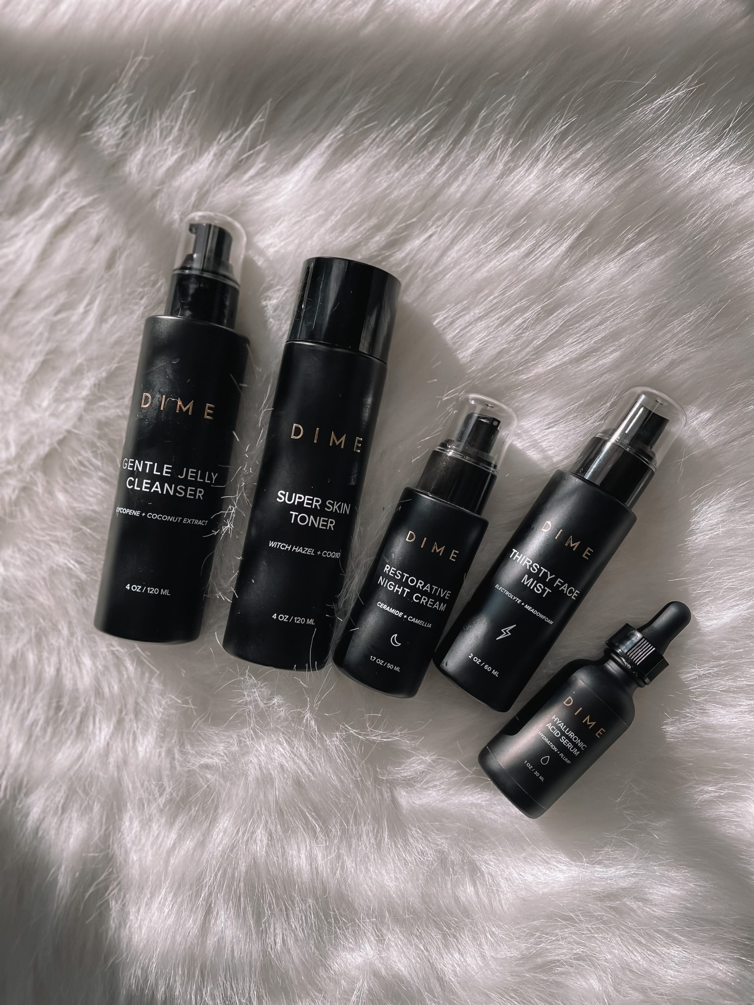 Skincare Routine with DIME Beauty