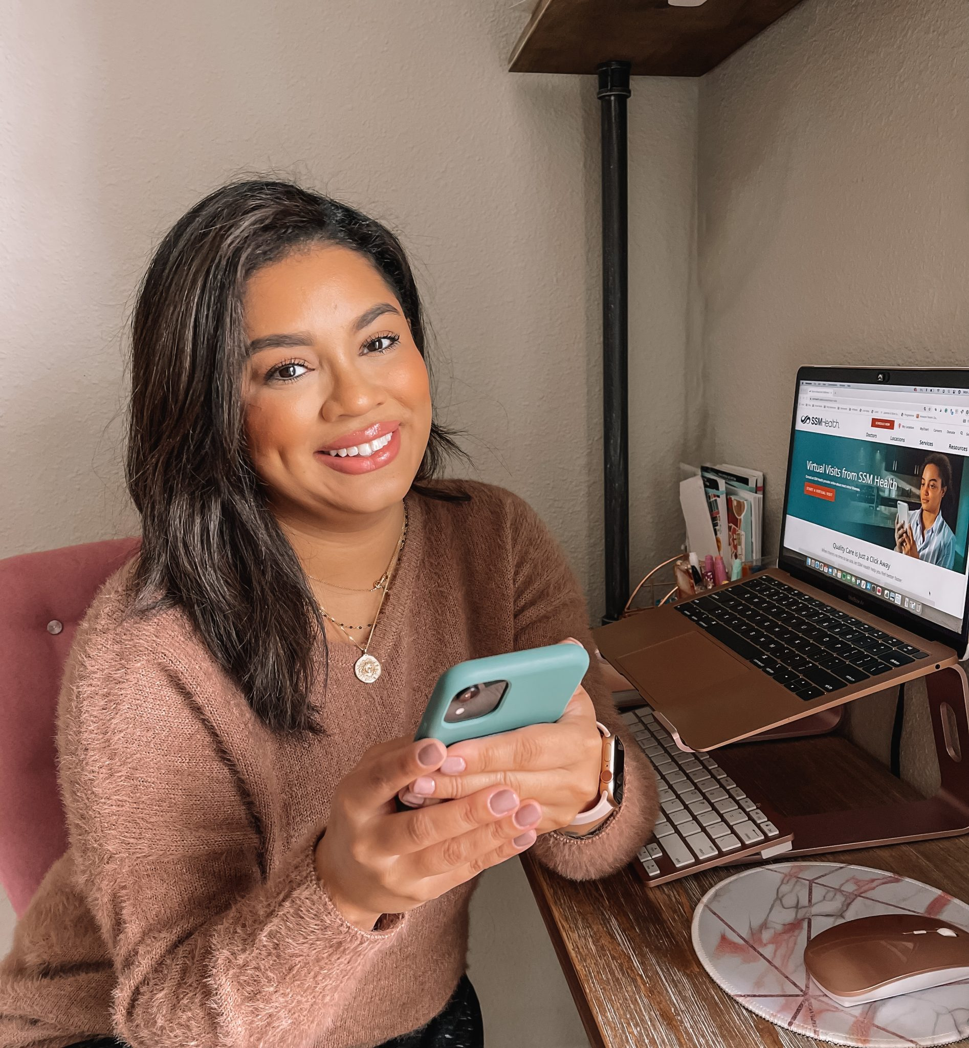 Virtual Visits with a Doctor at Home
