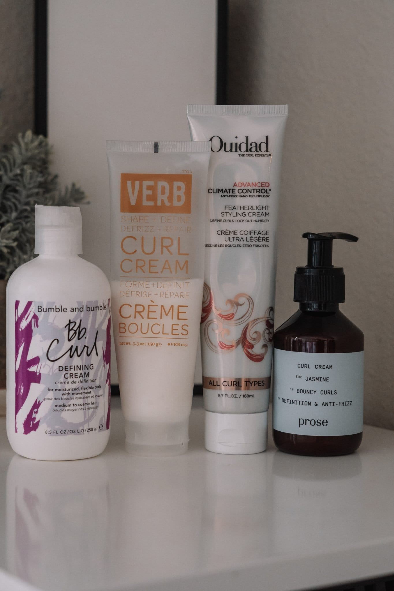 Top 4 Styling Curl Creams
