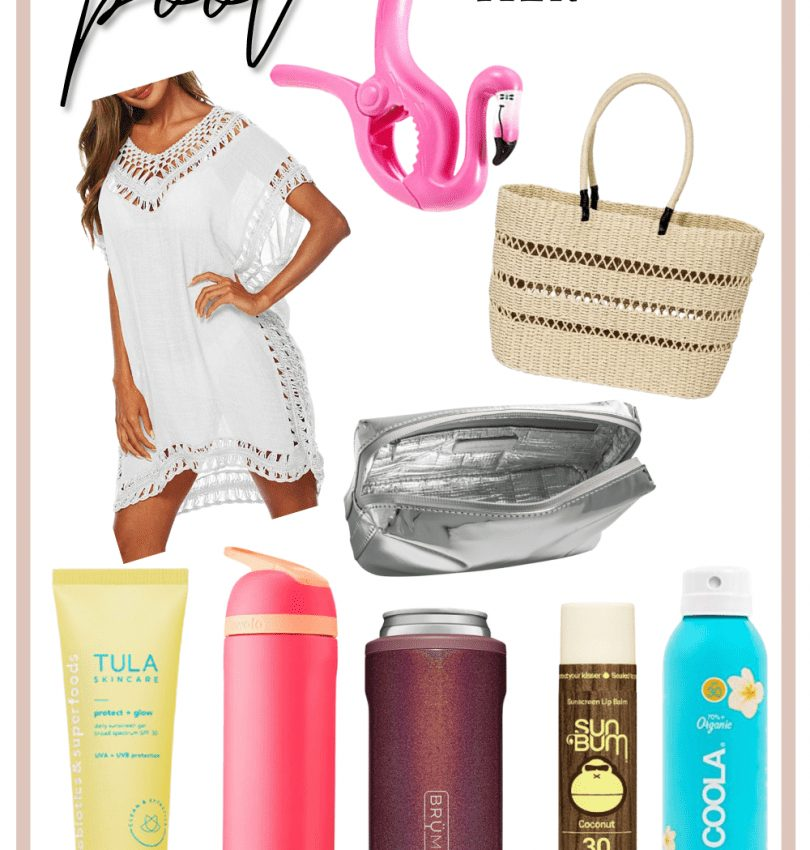 Pool Day Must-Have Essentials