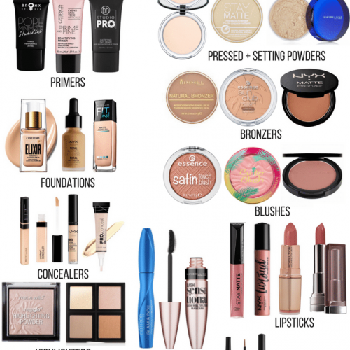 Ride or Die: Drugstore Makeup